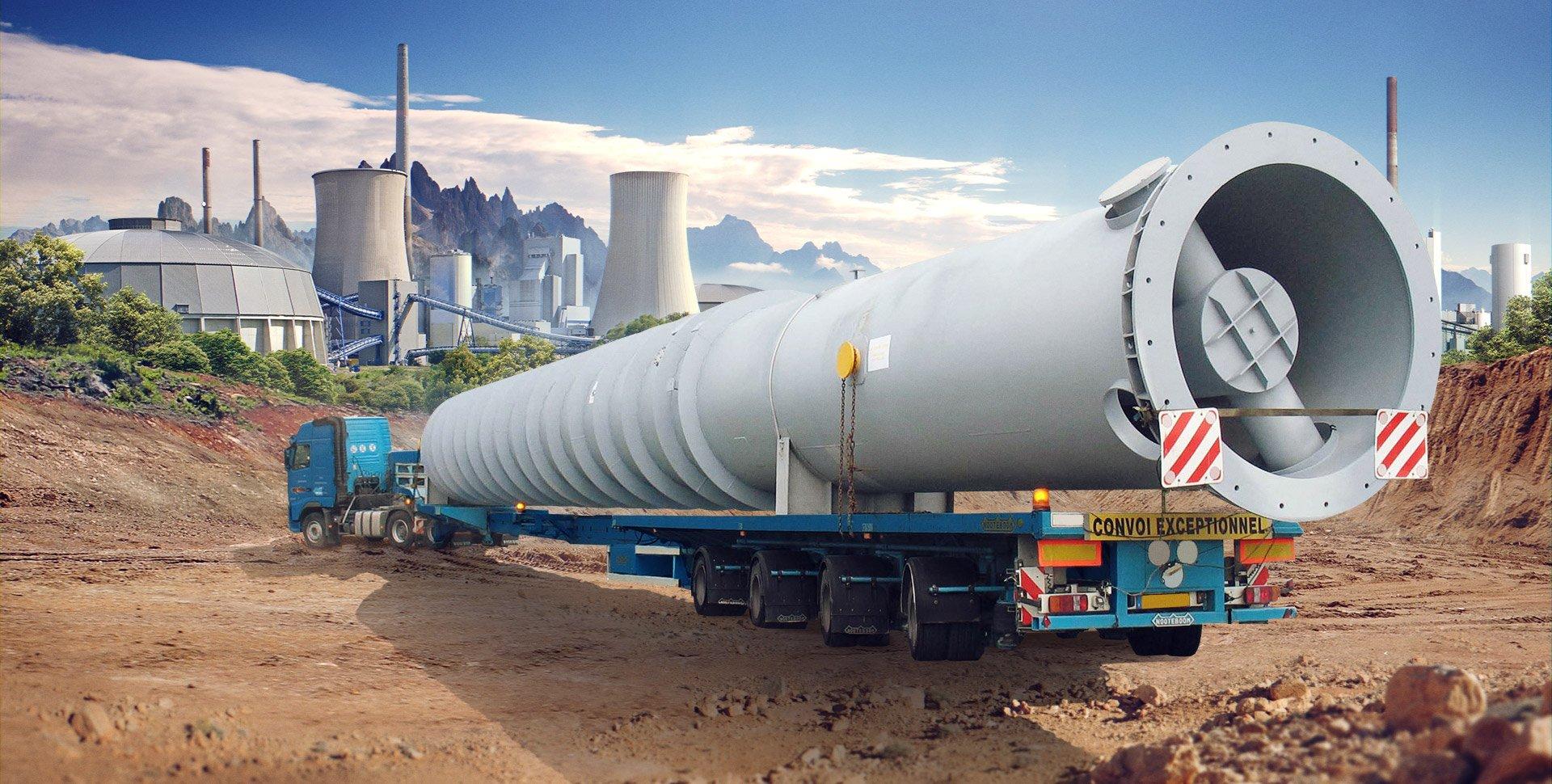 Тонкости перевозки длинномерных грузов