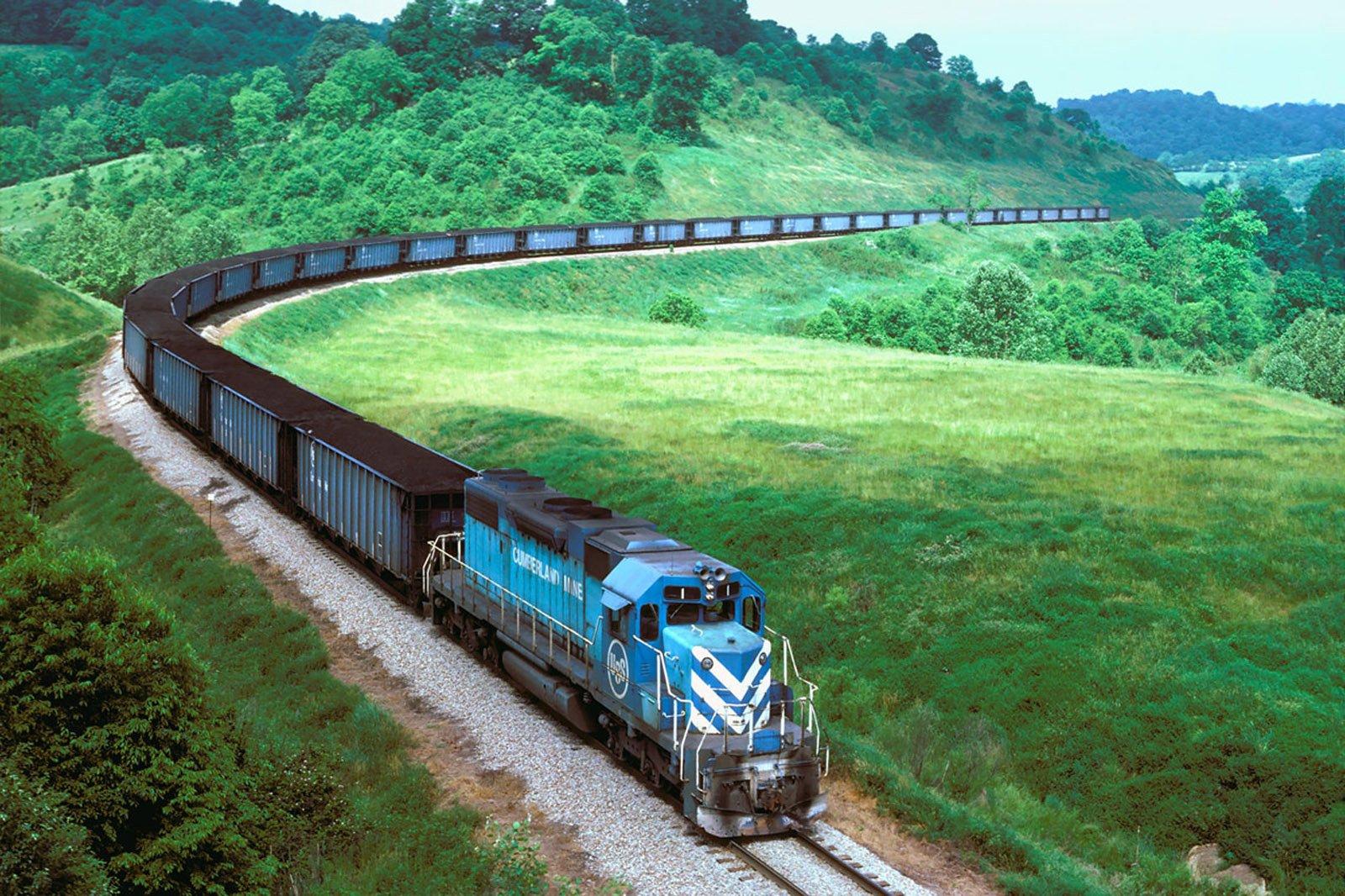 Международная железнодорожная перевозка грузов с участием портов