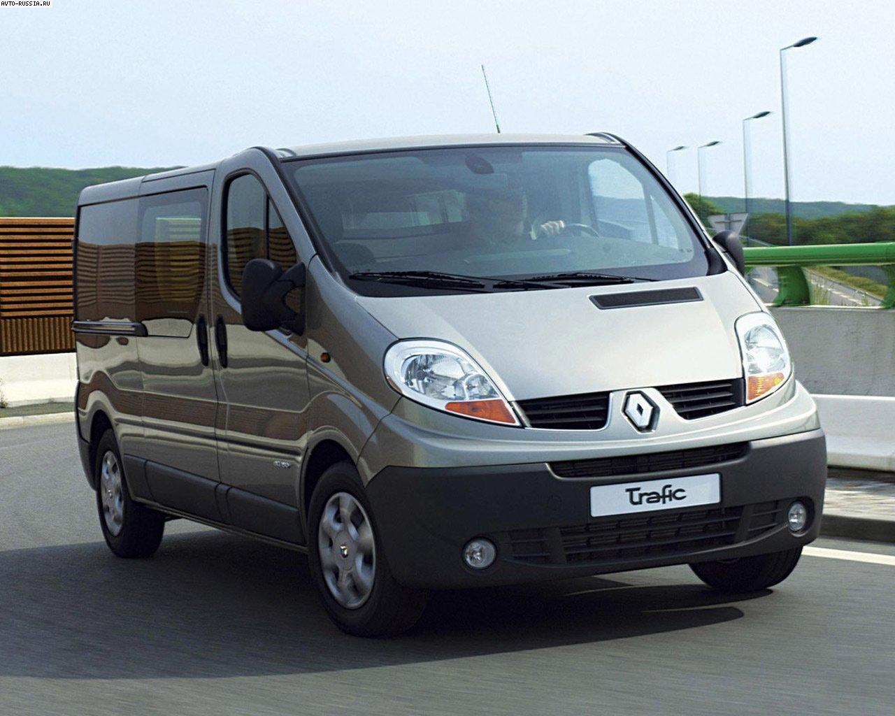 Микроавтобус Рено Трафик — характеристики, отзывы владельцев