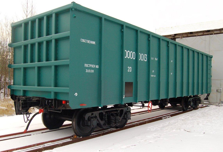 Типы вагонов, грузовых