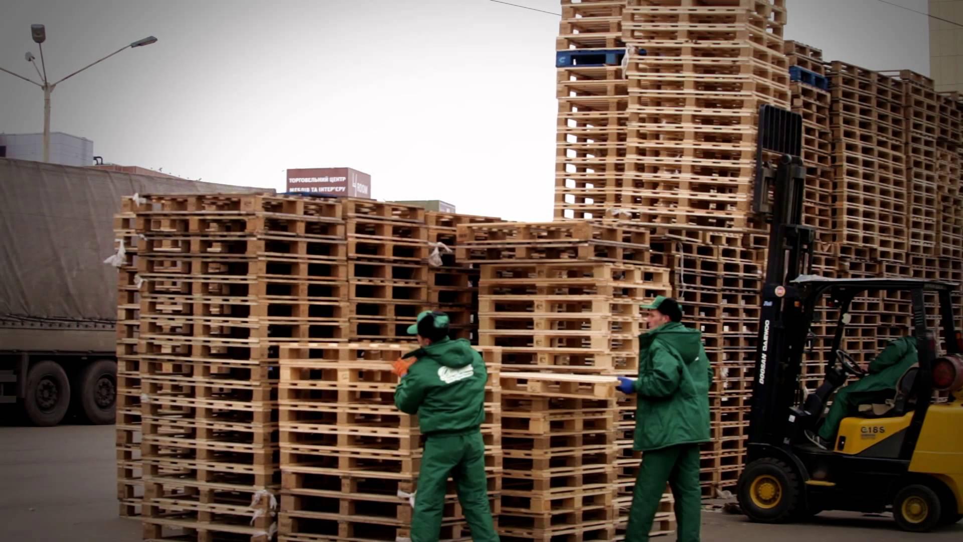 Перевозка грузов на паллетах