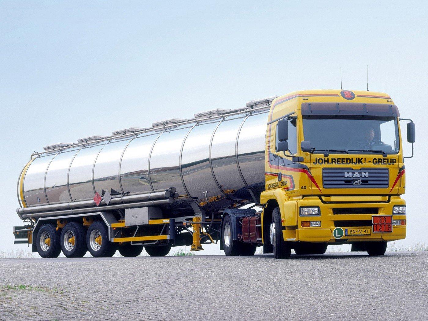 Перевозки наливных грузов в автоцистернах