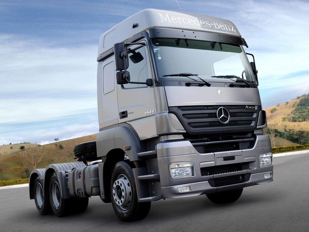 Немецкие грузовики Мерседес: Актрос, Атего и Аксор