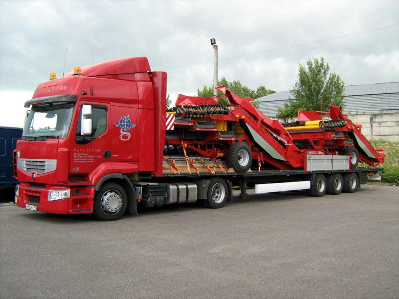 Различные виды перевозок грузов и их особенности