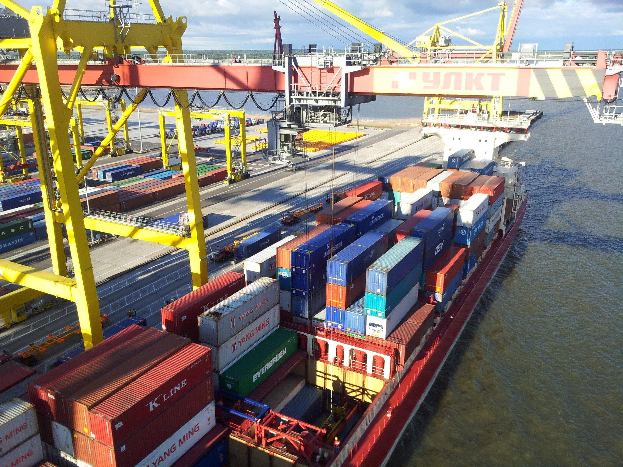 Выполнение коммерческих и грузовых операций в пунктах перевалки грузов