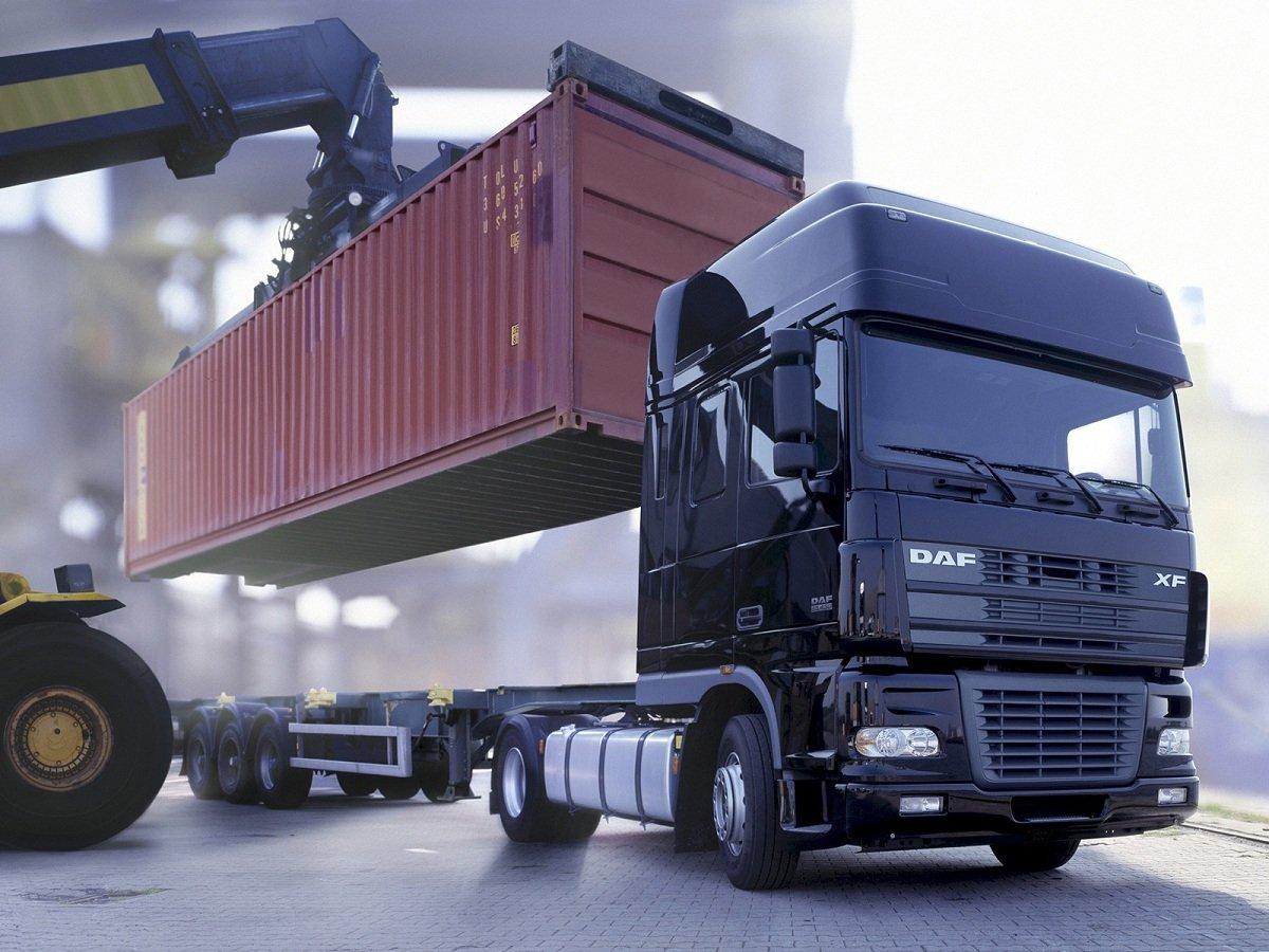 Типы и основные характеристики контейнеровоза полуприцепа