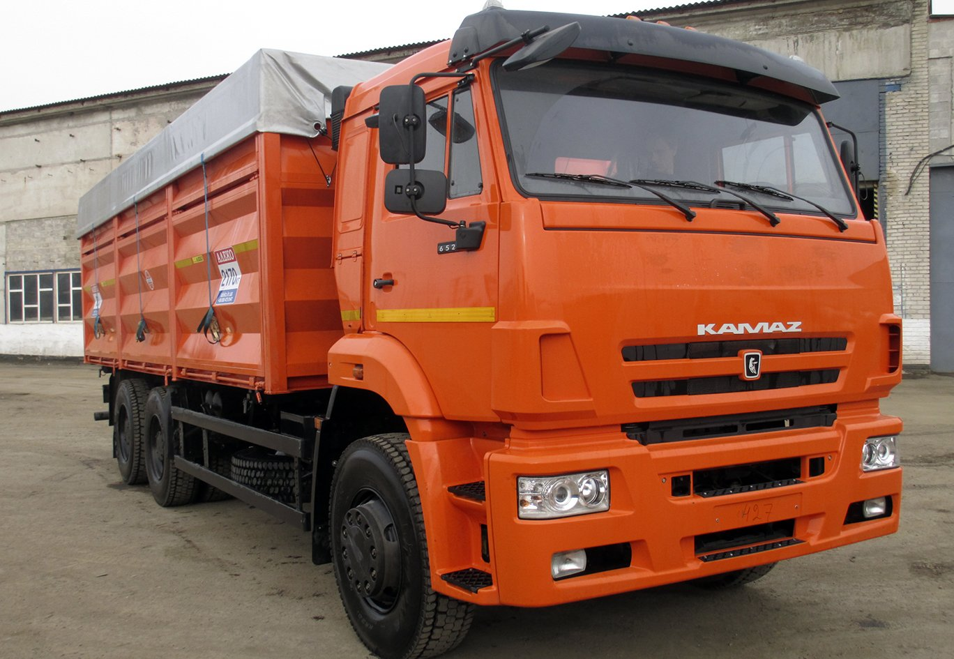 Автоперевозки грузов по России, следим за машиной