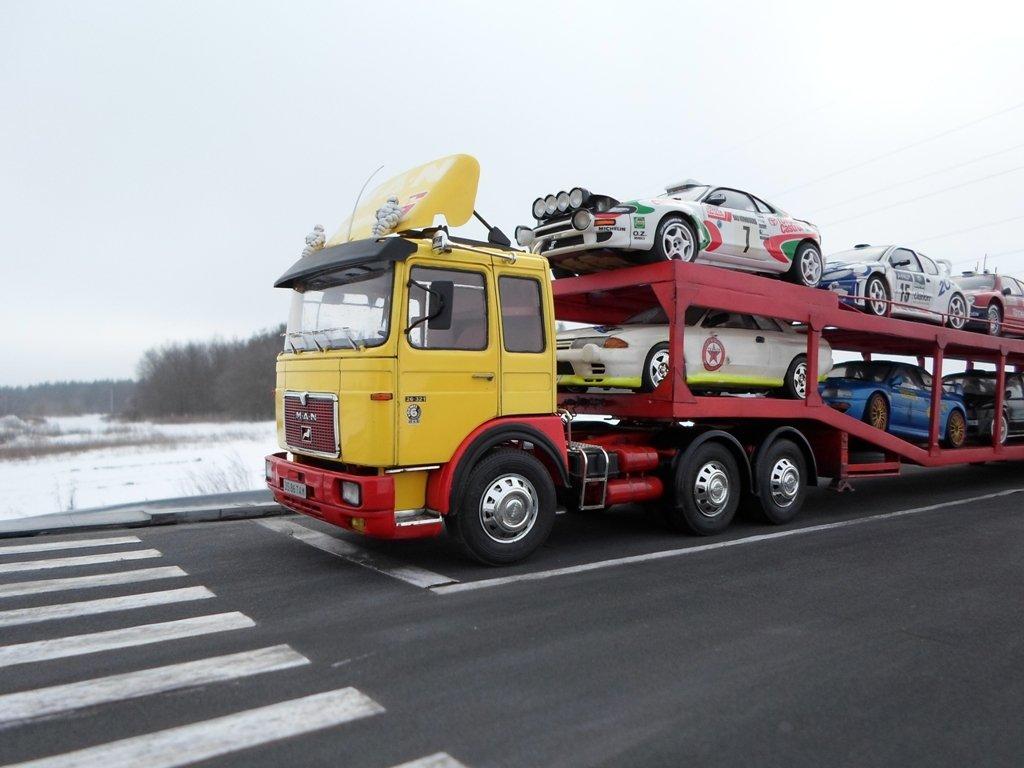 Грузовые перевозки автомобилей автовозами