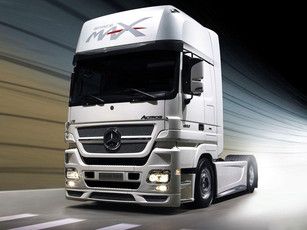 Мерседес Актрос – новое слово в классе тяжелых грузовиков