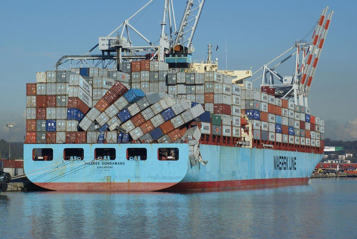 Разновидности повреждений грузов