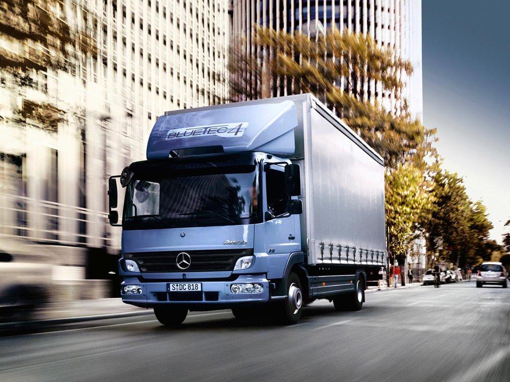 Мерседес Атего — технические характеристики грузовика