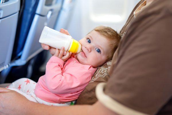 Детское питание в самолёте