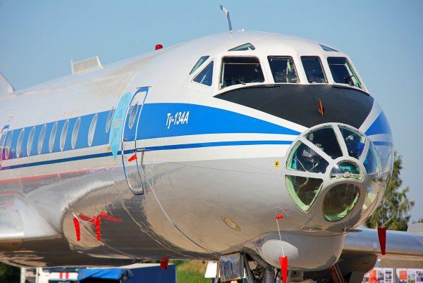 Самолет ТУ 134 А