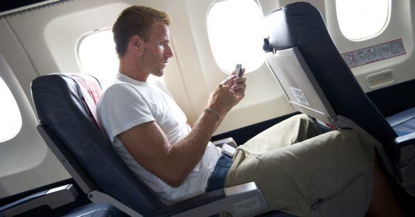 Телефон в самолёте