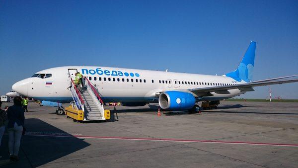 Самолёт Авиакомпании «Победа»