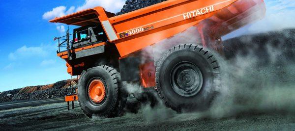 Самые большие грузовые машины в мире Hitachi EH5000AC-3