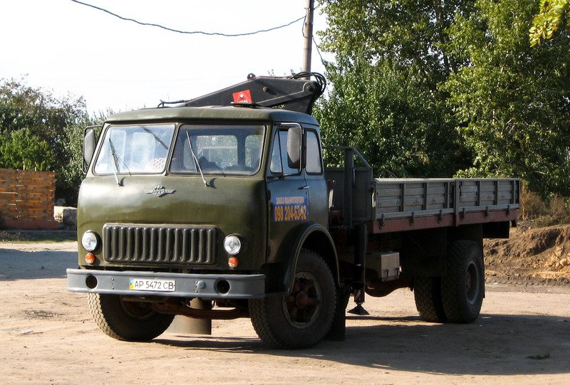 Топ 10 грузовиков из СССР: известные модели советского автопрома