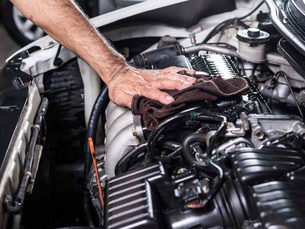 Уход за элементами двигателя авто