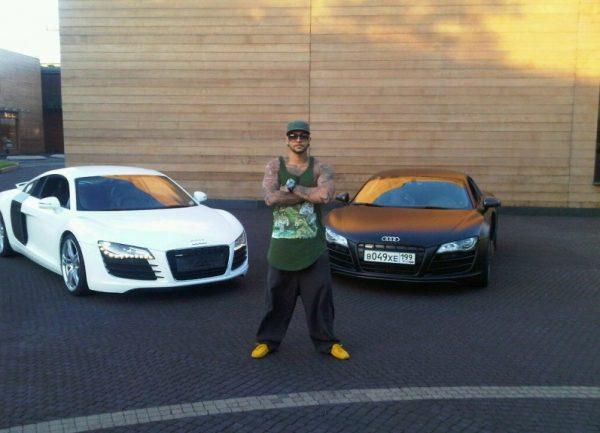 2 любимых Audi Тимати