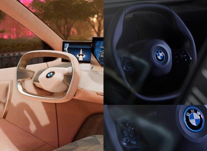 Новый многоугольный руль от BMW