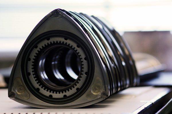 Основная часть роторного двигателя - «треугольныый» ротор