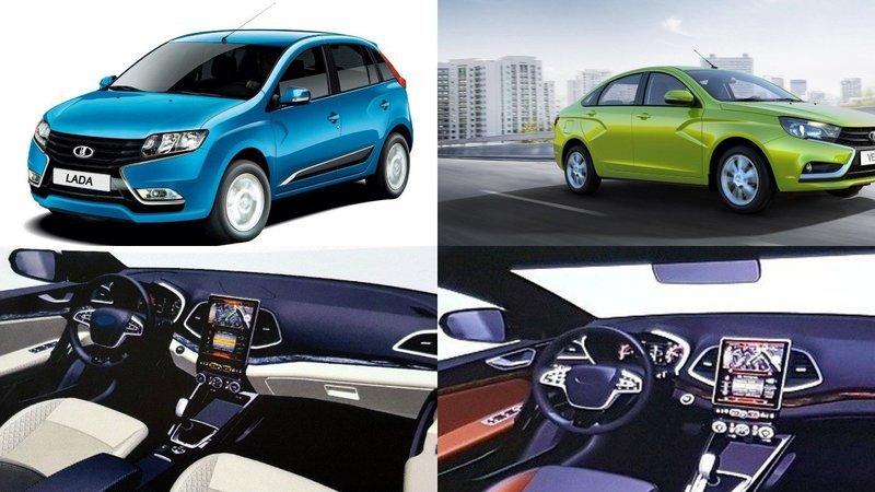 Информация о новой модели Lada Vesta появилась в Сети
