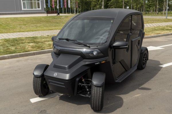 Обновленный электромобиль «Овум»