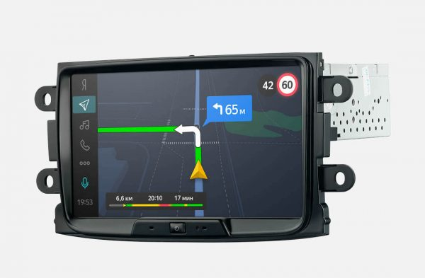 Бортовой компьютер Яндекс с навигацией