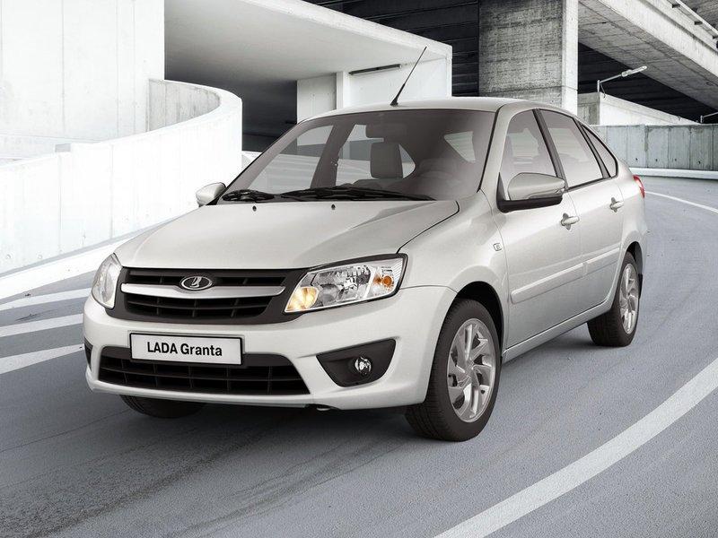 Самый продаваемый автомобиль России— LADA Granta
