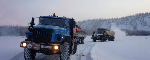 строительство дорог на крайнем севере