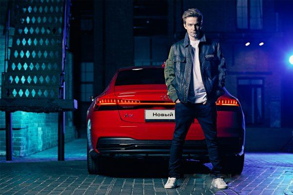 Александр Петров и новая Audi A7