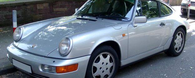 автомобиль-купе Porsche 64