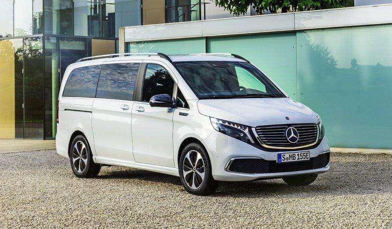 Mercedes-Benz выпустил первый электрический минивэнEQV