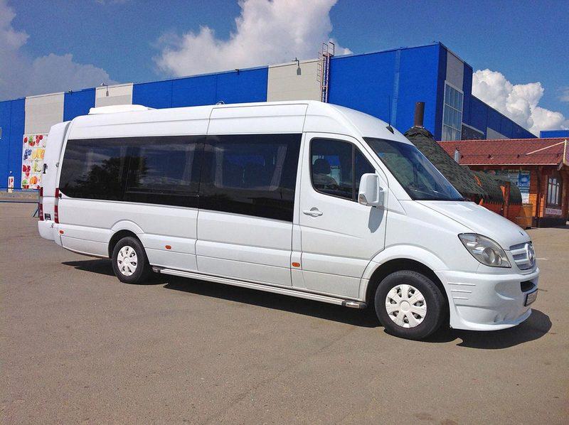 Новыймикроавтобус Sprinter Tourist появится скоро в России