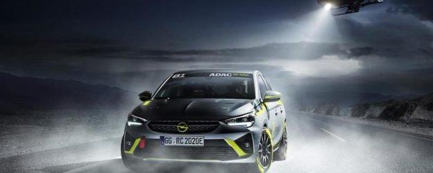 Новый автомобиль Opel E-Corsa — первый электрокар для ралли