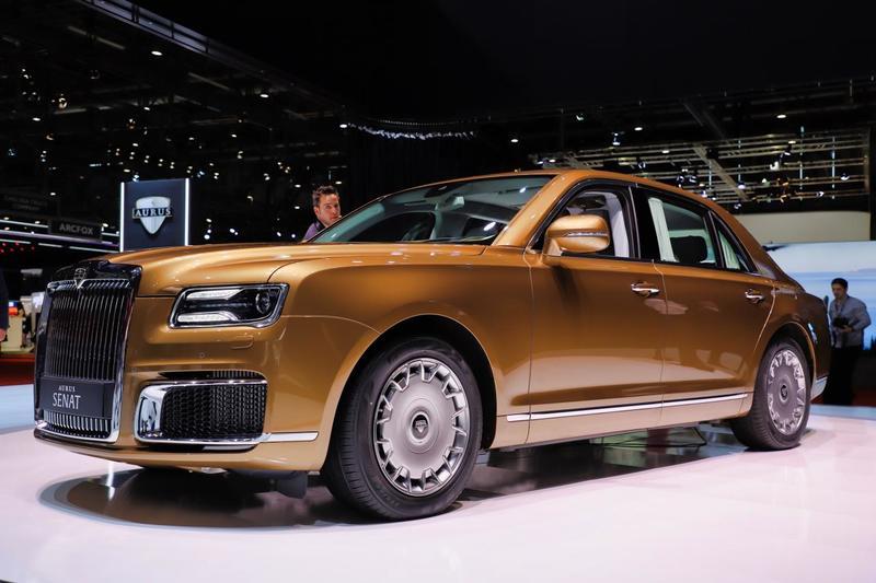 КомпанияAurus готовится расширить новую линейку автомобилей