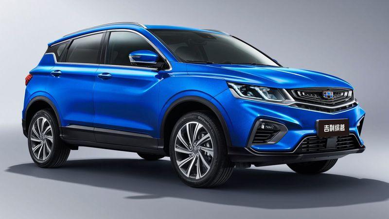 Новый автомобильGeely Binyue появится в России осенью 2019 года