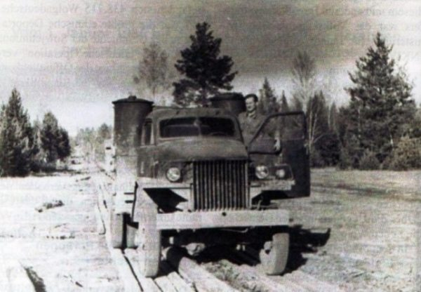 Studebaker US 6 на просеке