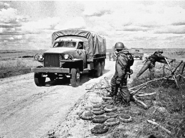 Студебеккер на фронтовой дороге