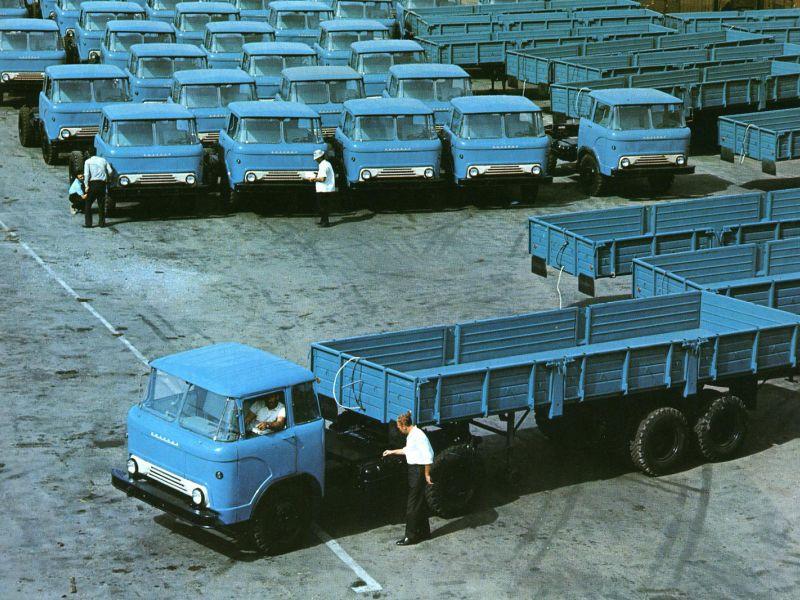 Автомобили семейства «Колхида» (КАЗ-606, 608, 4540): обзор, технические характеристики, фото и видео