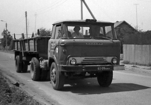 КАЗ-606 «Колхида» в работе