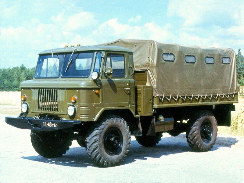 ГАЗ-66: технические характеристики и описание