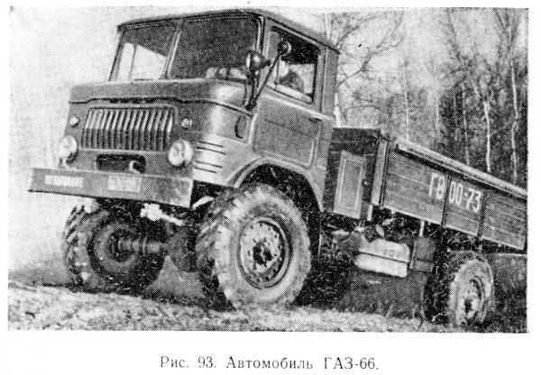 ГАЗ-66 фото из книги