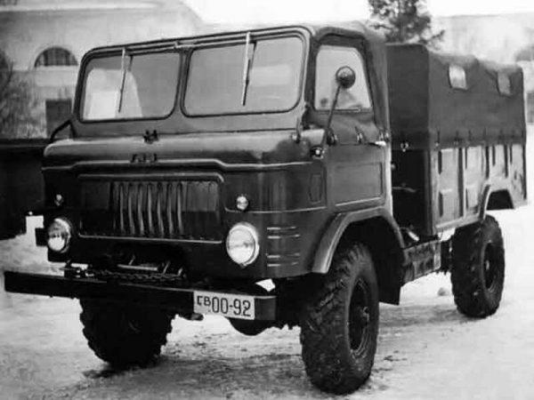Автомобиль ГАЗ-66 «Шишига»