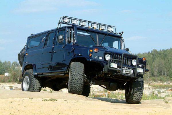 Джип «Бархан» на базе ГАЗ-66