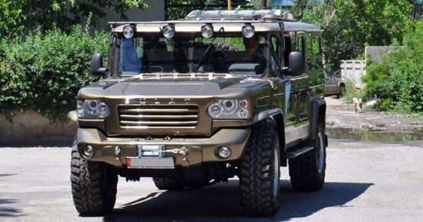 «Булат» - джип на базе ГАЗ-66
