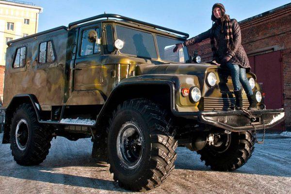 Рестайлинг ГАЗ-66