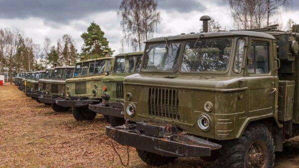 Кладбище списанных ГАЗ-66