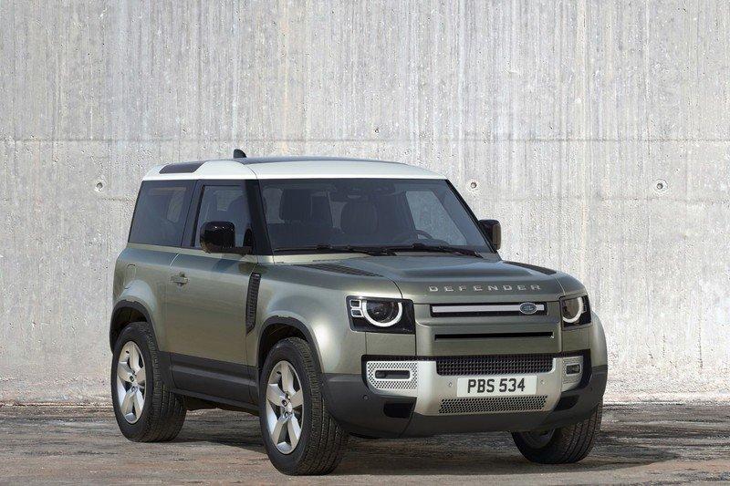 Скоро в продаже появитсяLand Rover Defender второго поколения