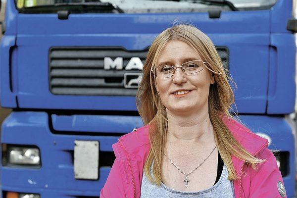 Евгения Маркова — женщина дальнобойщик
